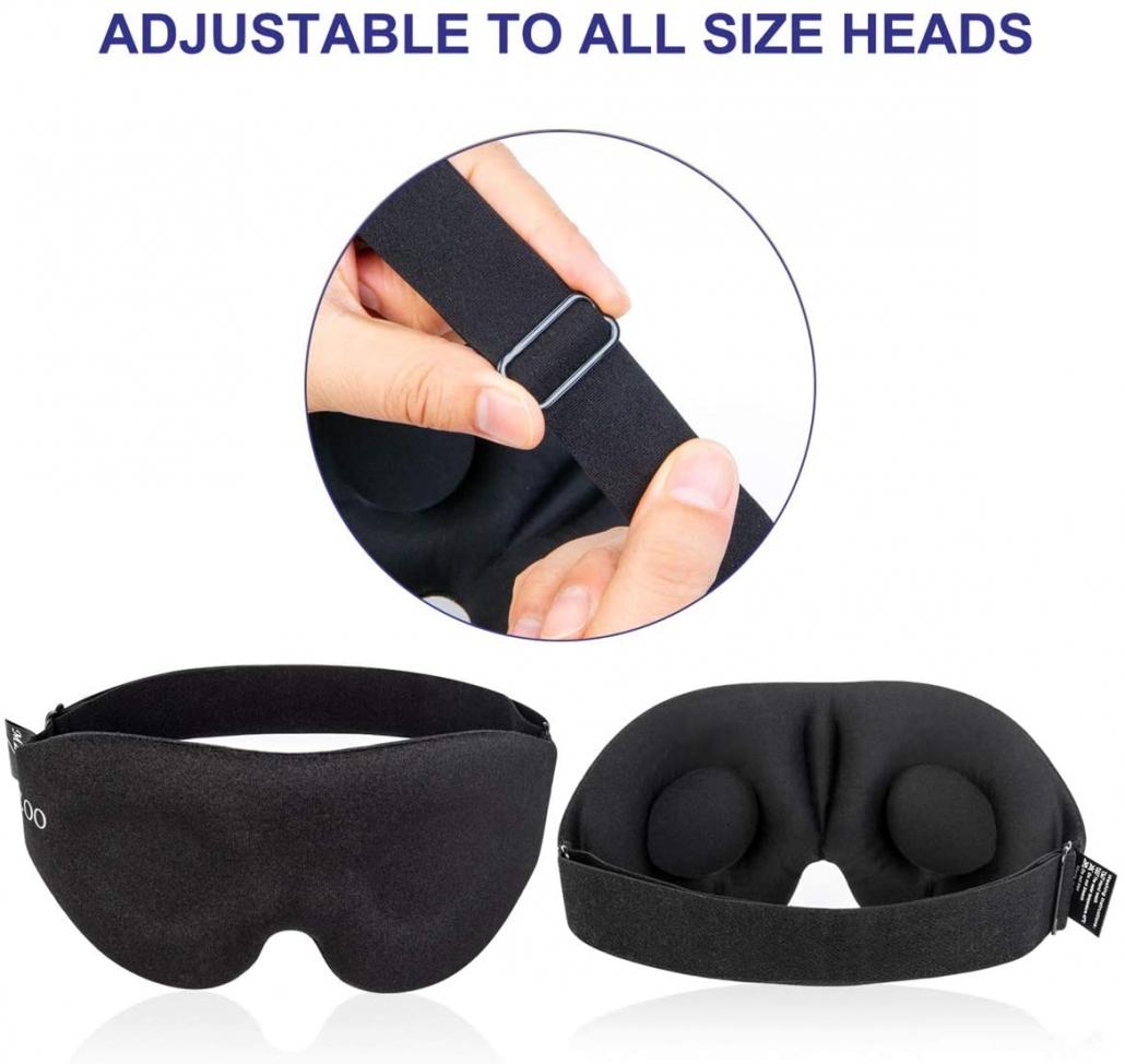 MZOO Sleep Eye Mask adjustable