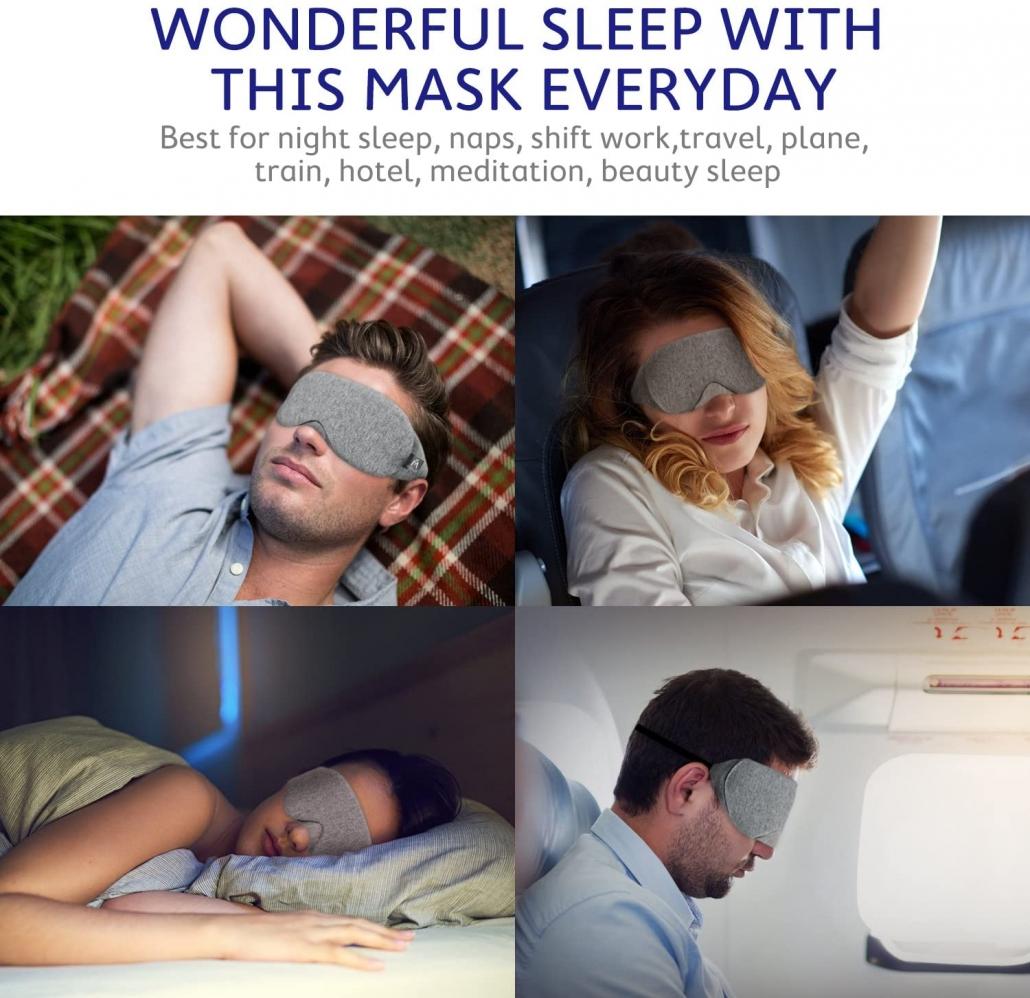 Mavogel Cotton Sleep Eye Mask sleep