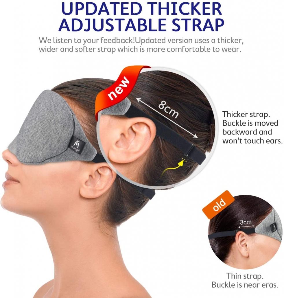 Mavogel Cotton Sleep Eye Mask strap