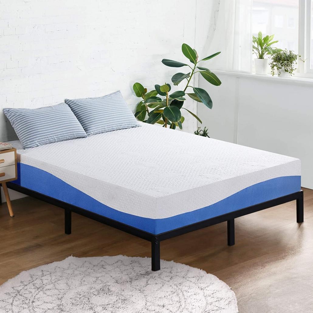 Olee Sleep Aquarius 10-Inch Memory Foam Mattress