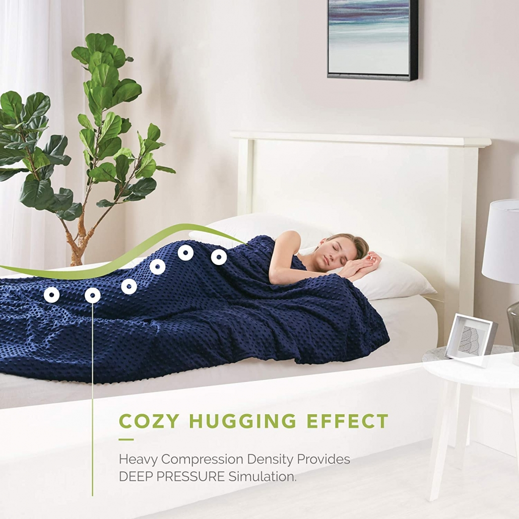 Degrees Of Comfort Weighted Blanket features