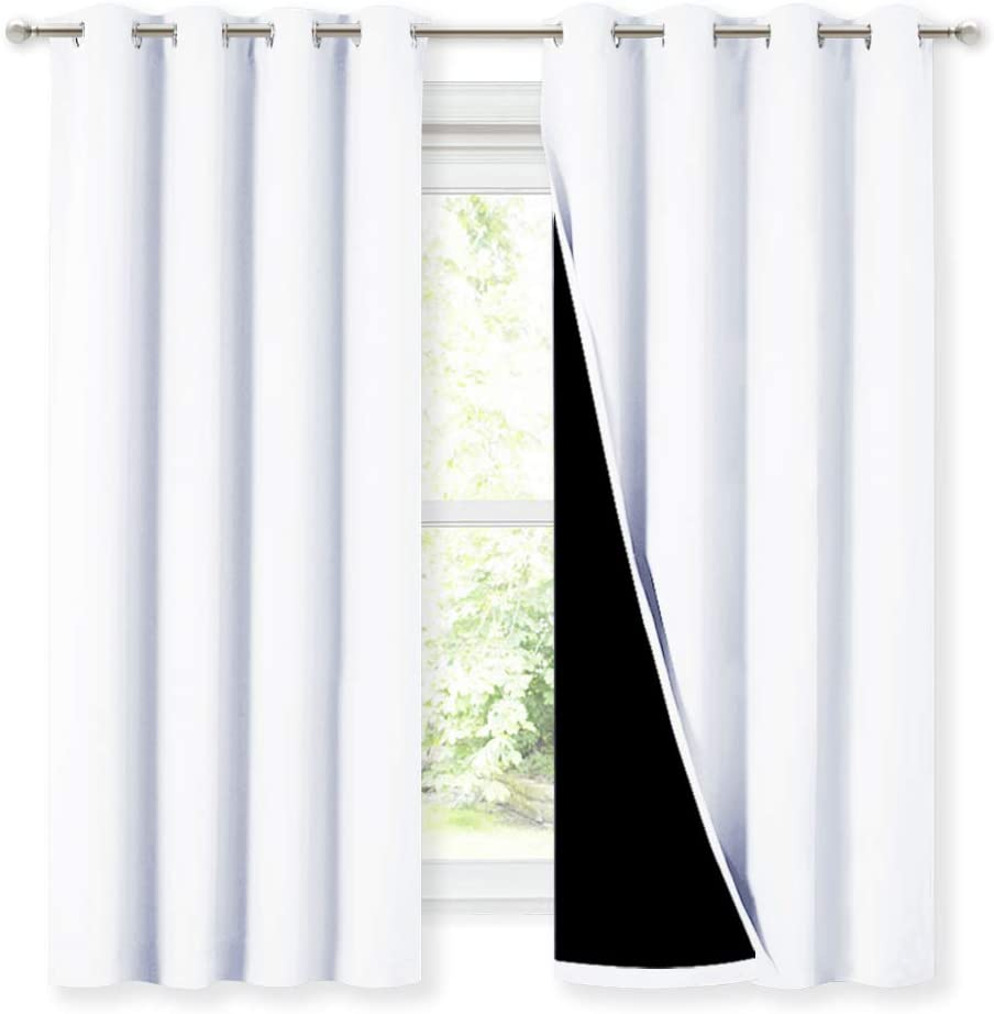 NICETOWN Blackout Lined Curtain