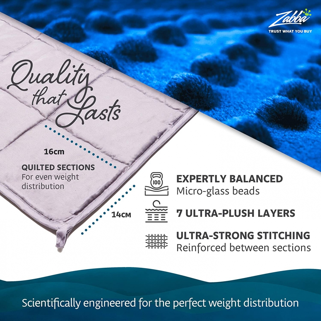 Quility Weighted Blankets features