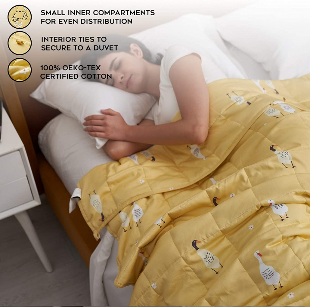 YnM Weighted Blanket feature