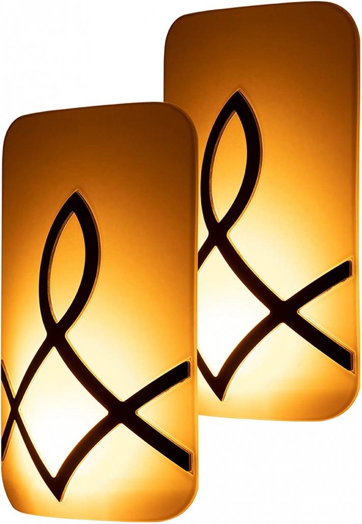 GE SleepLite LED Candle Glow