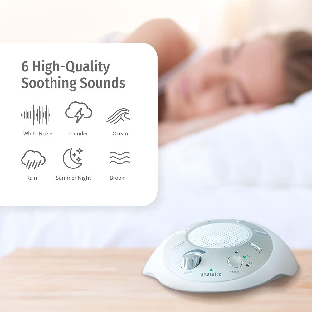 HoMedics White Noise Sound Machine sounds