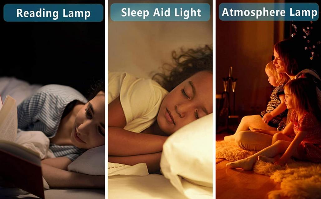 JALL Sleep Aid digital alarm uses