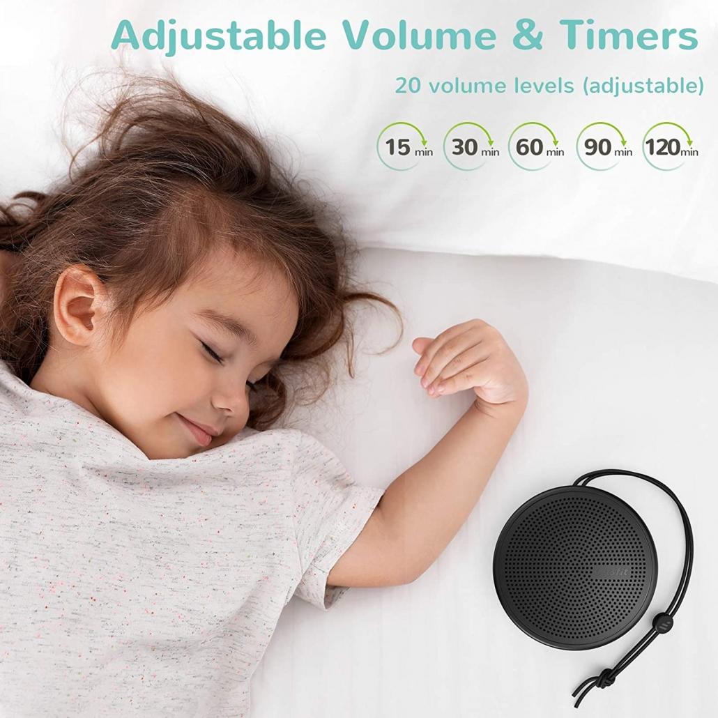 Letsfit Portable White Noise Machines