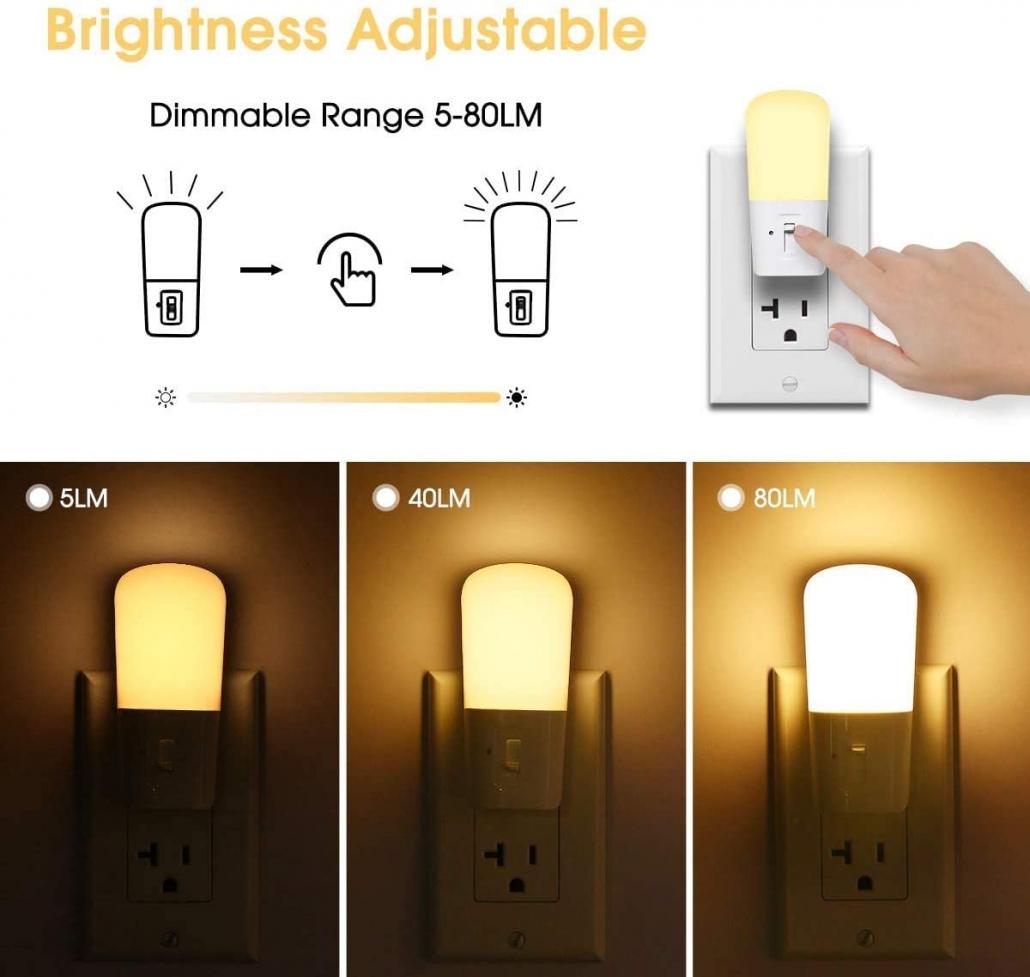 LOHAS Plug in sleep Lights