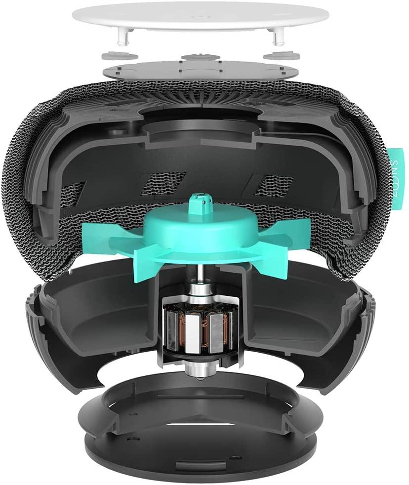 SNOOZ White Noise Sound Machine inside