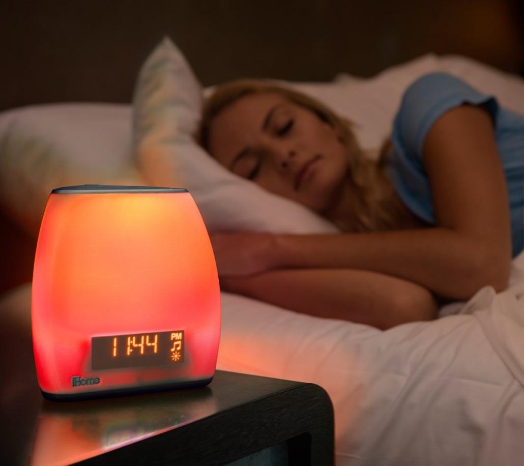 iHome Zenergy Bedside Sleep Therapy Machine sleep light